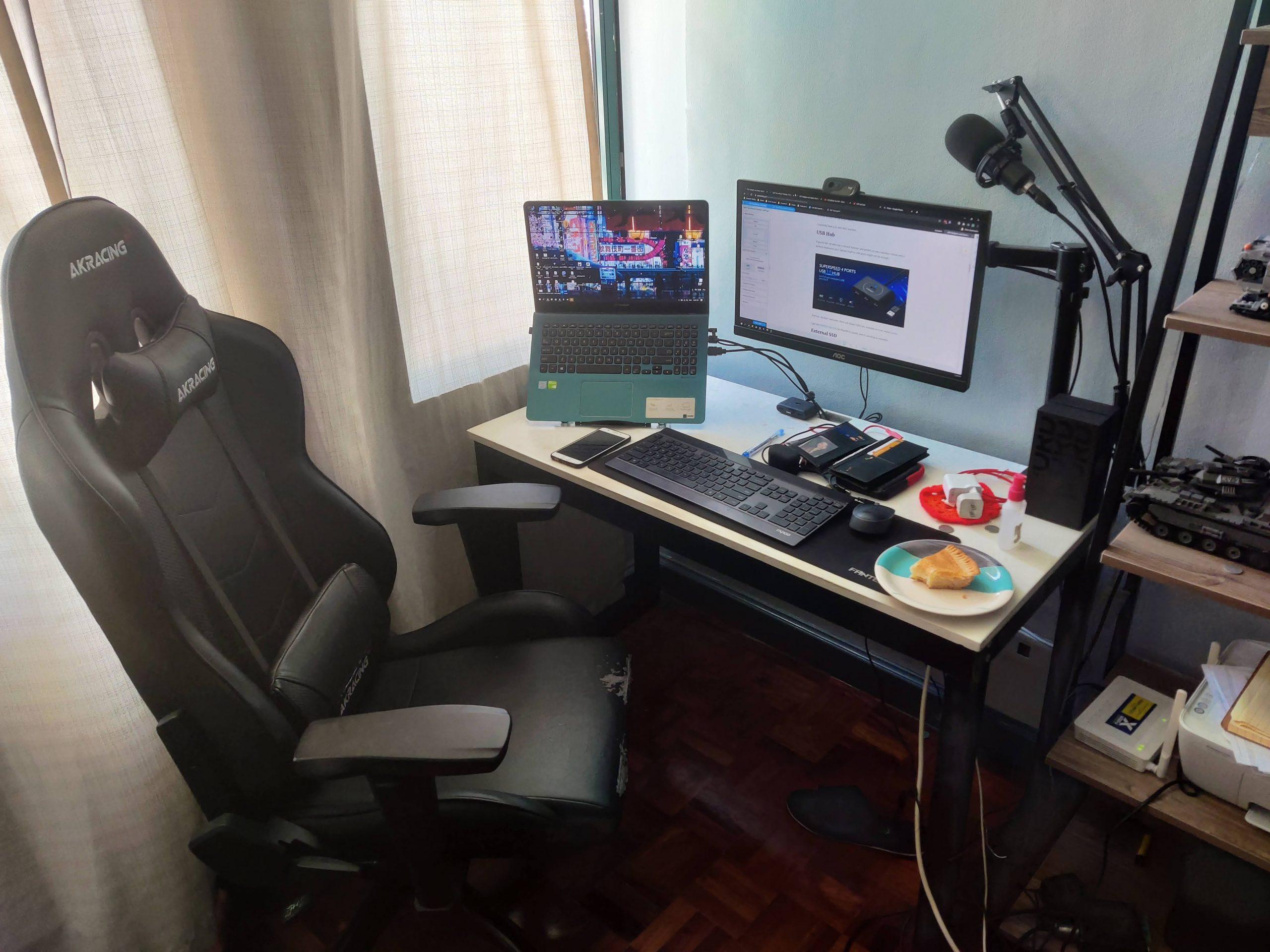 current workstation setup