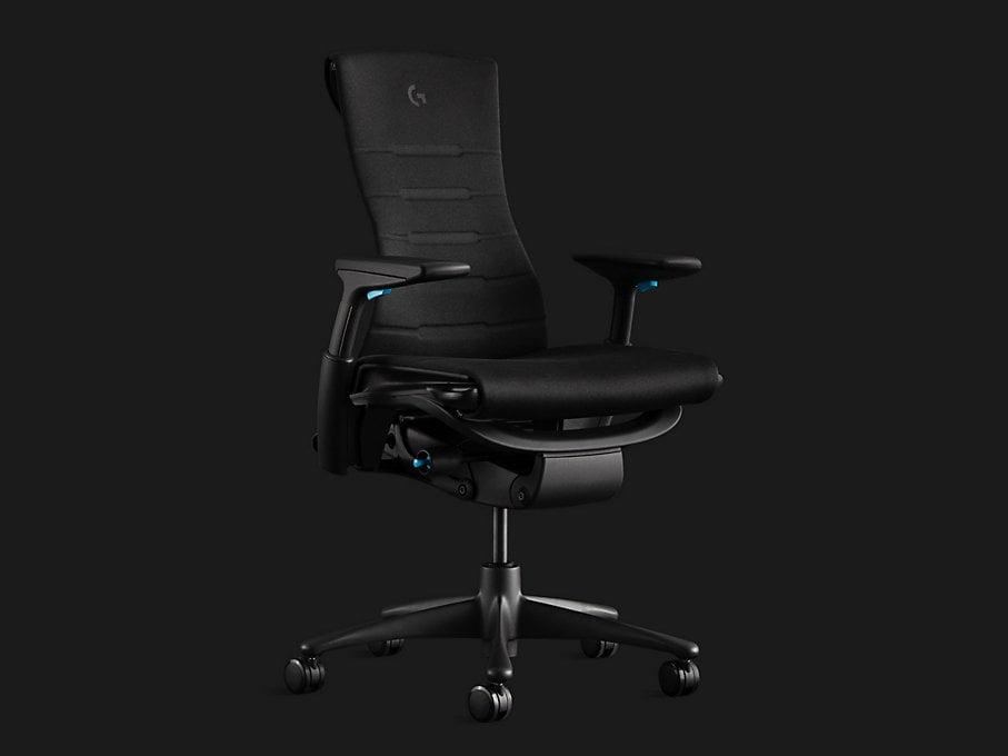 logitech x herman miller ergonomic chair